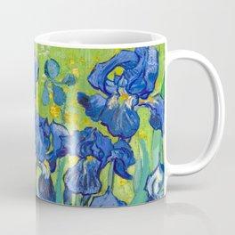 Vincent Van Gogh Irises Painting Detail Coffee Mug