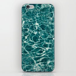 Aqua Underwater Wavy Rippling Water iPhone Skin