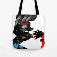 ethnic Tote Bags featuring Ethnic by longmuzzle