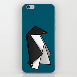 Origami Penguins iPhone Skin