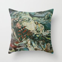 Nightmare in the Tempest: Freddy Krueger Throw Pillow
