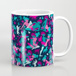 Deep Dark Pink Coffee Mug