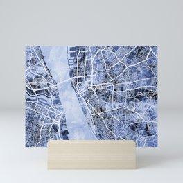 Liverpool England City Street Map Mini Art Print