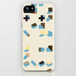 Abstract Geometric Artwork 75 iPhone Case