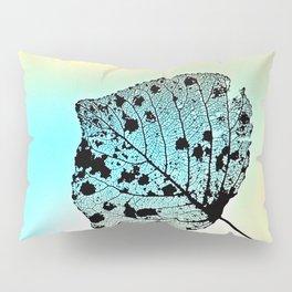 Weathered Poplar Leaf Pillow Sham