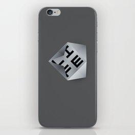 Life Unfolds Itself iPhone Skin
