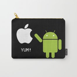 Android eats apple Carry-All Pouch