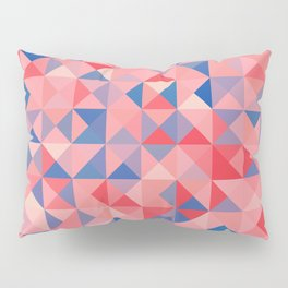 colorful Triangles 1 Pillow Sham