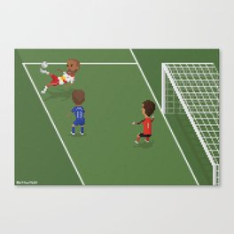 Thierry Henry's Bicycle Kick Canvas Print