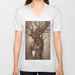 I love you, Old Tree! Unisex V-Neck
