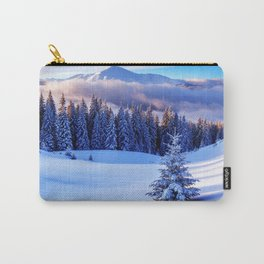 Snow Trees Carry-All Pouch