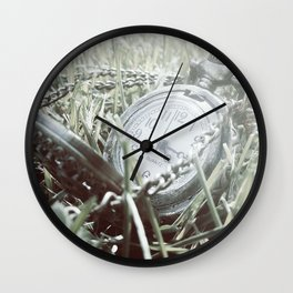 First Frost Of Winter Wall Clock