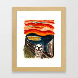 Sloth's Scream  Framed Art Print