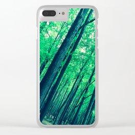 Spring Vertigo Clear iPhone Case