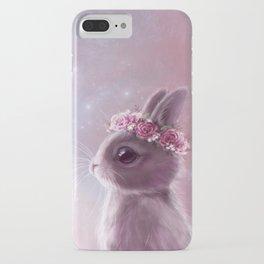 Fairy bunny iPhone Case