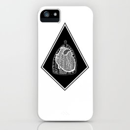 So don't you fall in love B&W iPhone Case