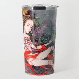 Oriental Beauty: Goddess of Nature Travel Mug