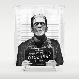 Public Order Frank Shower Curtain