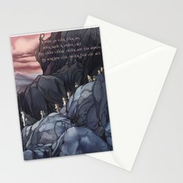 Roads go Ever Ever On Stationery Cards