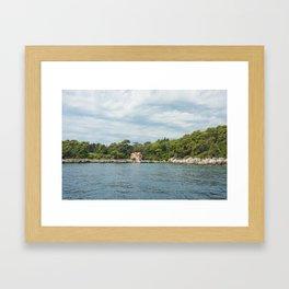 Lokrum Croatia Framed Art Print