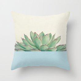 Succulent Dip III Throw Pillow