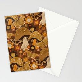 Mushroom Stitch Stationery Cards