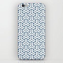 bishamon in monaco blue iPhone Skin