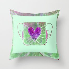 Elysium 2v by Kathy Morton Stanion Throw Pillow