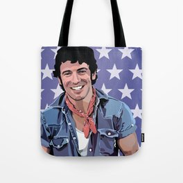 Bruce the Boss Tote Bag