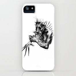 Pain Distortion iPhone Case