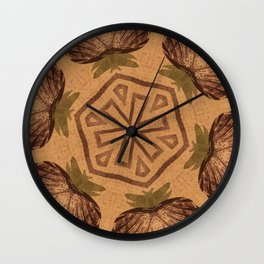 Fat Pineapple and Star Wall Clock