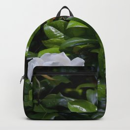Magnolia Leaves and Bloom Backpack
