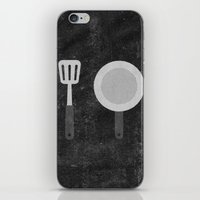 cook iPhone & iPod Skins featuring Cook by ElleG