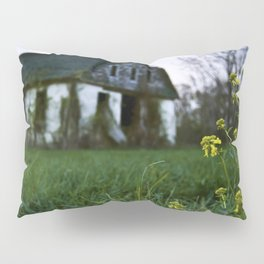 Dilapidated Farm and Mustard Seed Pillow Sham