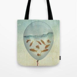 balloon fish 03 Tote Bag