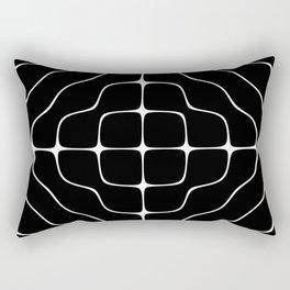 Energy Vibration 5. Frequency - Chladni - Cymatics Rectangular Pillow