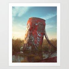 Coke Art Print
