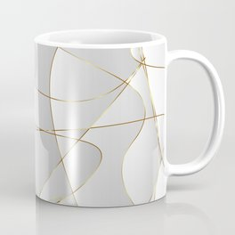 Gold lines Coffee Mug