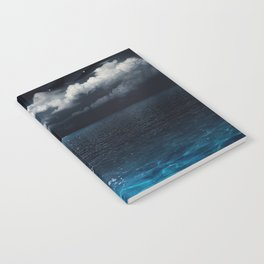 Full Moon over Ocean Notebook