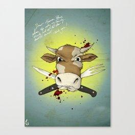Dear Human Race... Canvas Print