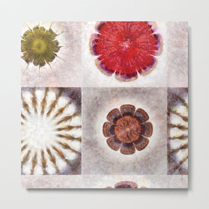 Tugger K-Naked Flower  ID:16165-025113-38800 Metal Print