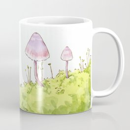 Mushrooms and Moss Coffee Mug