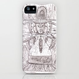 Blades of time. iPhone Case