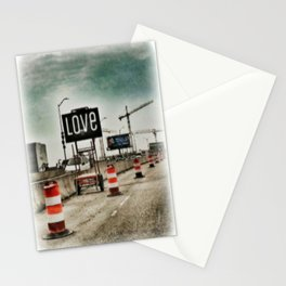 Road Construction Love  Stationery Cards