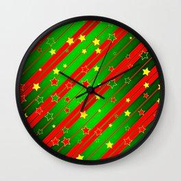 Christmas2 Wall Clock