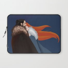 Facing the Night Together Laptop Sleeve