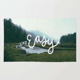 Live easy Rug