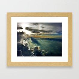 Cloud Garden Framed Art Print