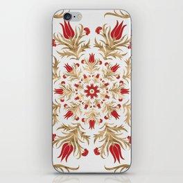 Turkish tulip - Ottoman tile 2 iPhone Skin