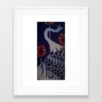 deco Framed Art Prints featuring deco. by Korrin Vanderhoof